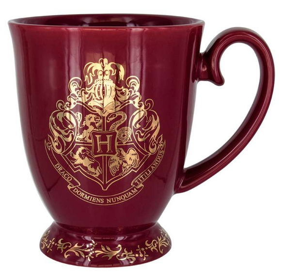 Hogwarts Golden Coat of Arms Mug