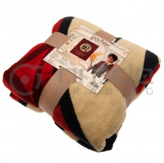 Harry Potter Platform 9 3/4 Fleece Blanket