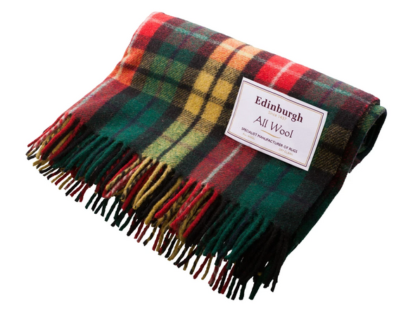 Buchanan Modern Tartan Throw