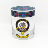 Clan Whiskey Glass