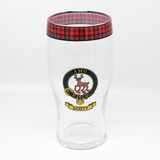 Clan Pint Glass