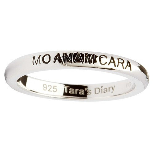 Mo Anam Cara Silver Stacking Ring
