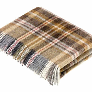 Mustard Glen Coe Throw