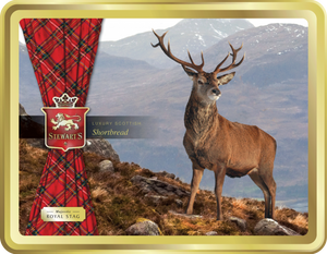 Stewart's Shortbread 400g Tin - Royal Stag