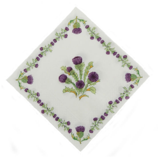 Scottish Thistle Napkins