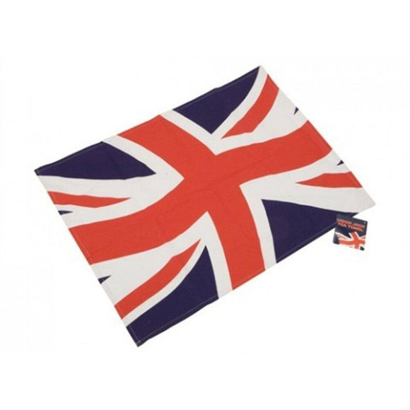 Union Jack Linen Tea Towel 75x50cm