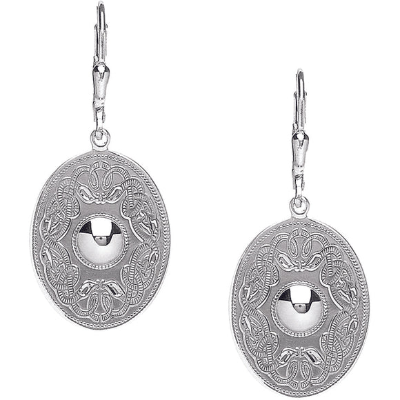 Celtic Warrior® Earrings – Oval