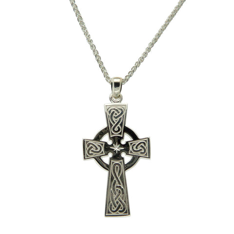 Large Celtic Cross Pendant