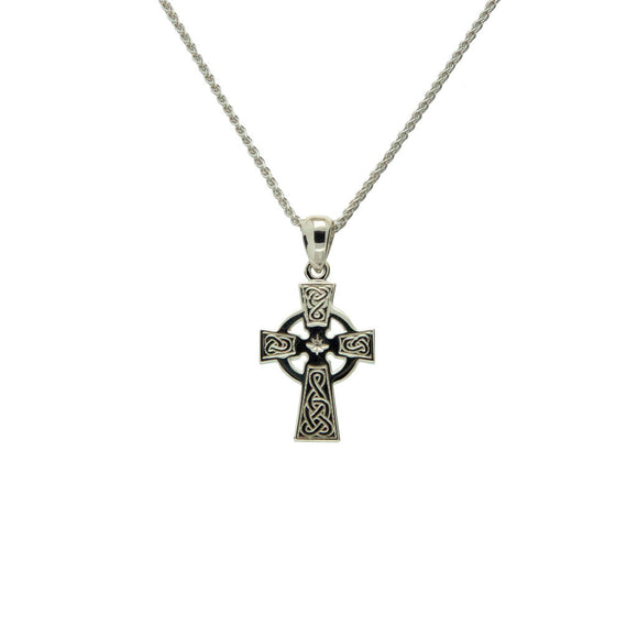 Small Celtic Cross Pendant