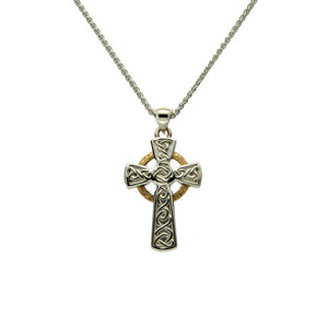 Circle Cross Small Pendant
