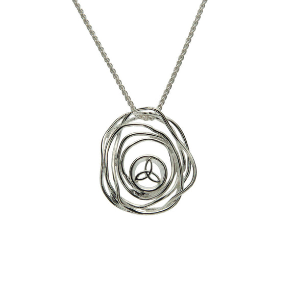 Cradle of Life Silver Pendant