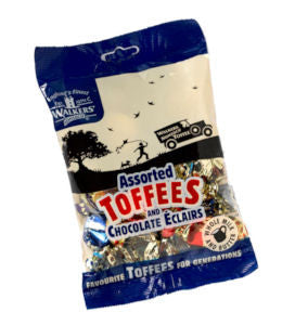 Walkers Toffee Bag Assorted 150g
