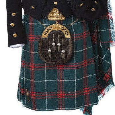 13oz Medium Weight Welsh Tartan Kilt