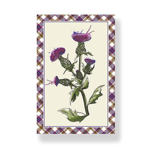 Wild Thistle Tea Towel