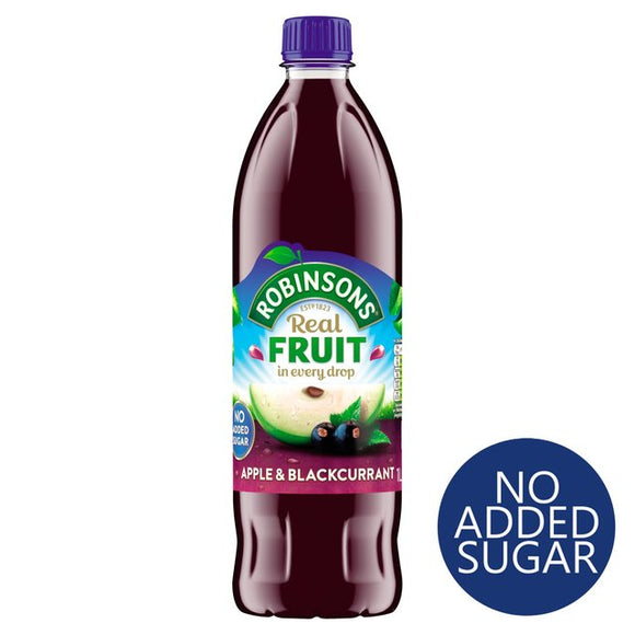 Robinsons Apple Blackcurrant No Added Sugar