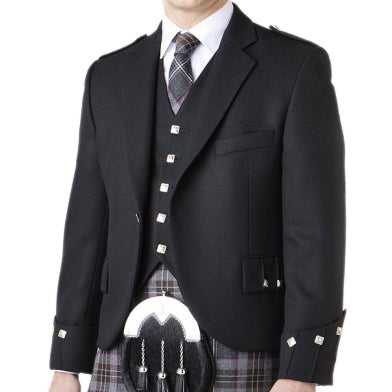 Argyle Band Jacket