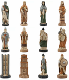 Battle of Hastings Hand Painted Chess Set