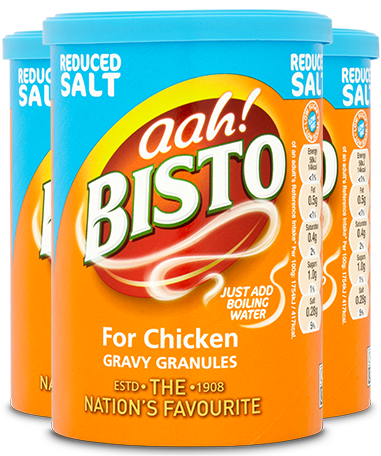 Bisto Reduced Salt Chicken Gravy Granules
