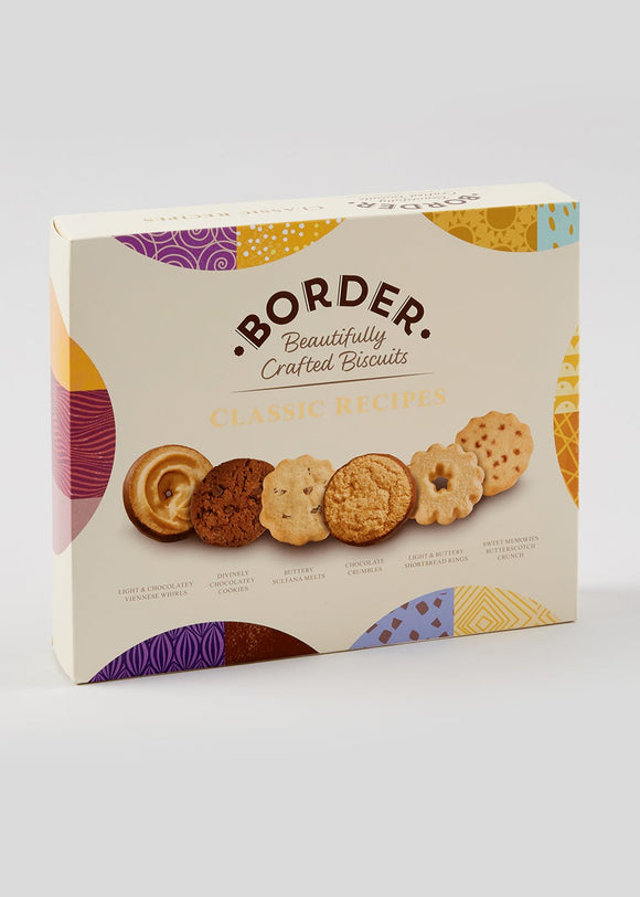 Border Biscuits Classic Recipes Luxury Biscuit Selection