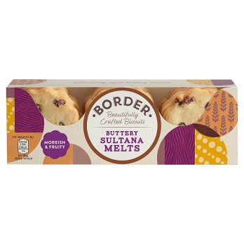 Border Biscuits Buttery Sultana Melts