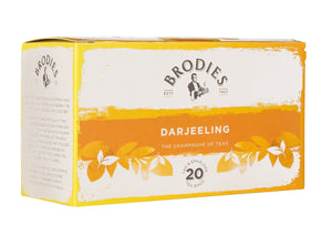 Brodies Darjeeling Tea Tag & Envelope Tea Bags
