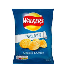 Walker's Cheese and Onion
