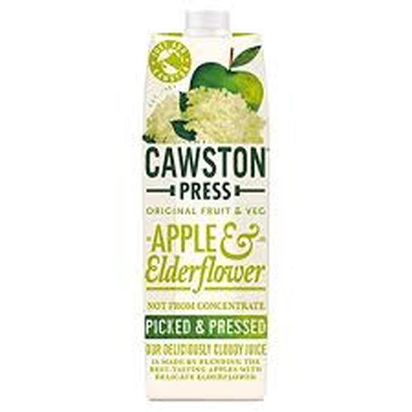 Cawston Press Sparkling Elderflower with Apple
