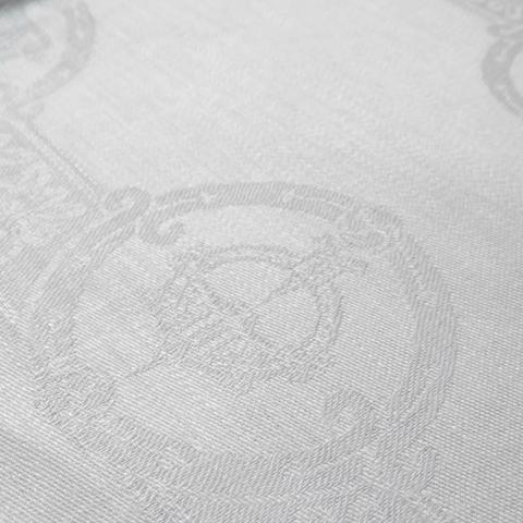 Irish Linen Damask Celtic Napkin White Square