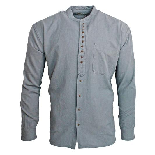 Civilian Cotton Retro Irish Shirt - Cloud