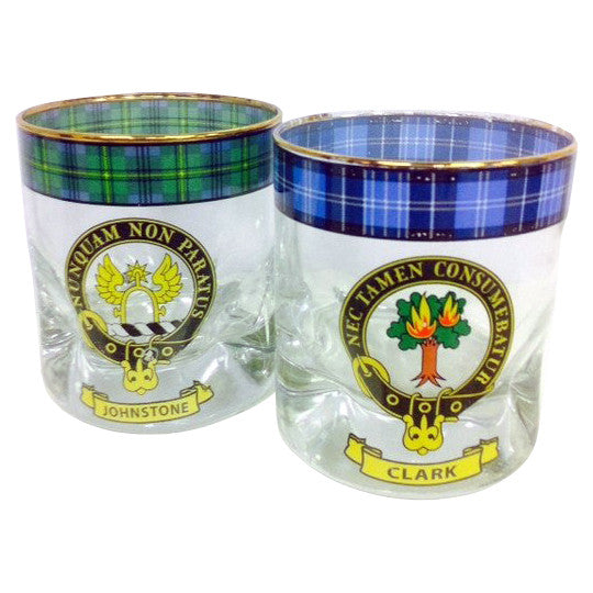 Clan Whisky Glass