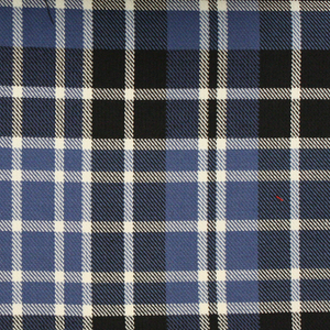 Clark Tartan Poly Viscose Cloth