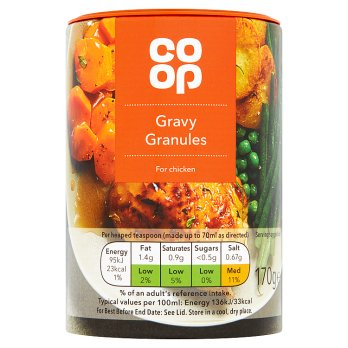 Co Op Gravy Granules for Chicken