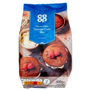 Co Op Chocolate Sponge Mix