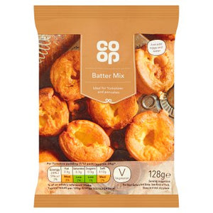 Co-op Pancake and Batter Mix 128g