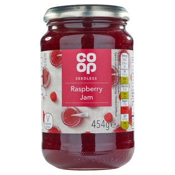 Co-op Raspberry Jam 454g