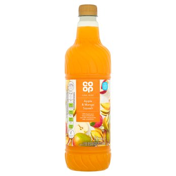 Co Op High Juice Apple & Mango Squash