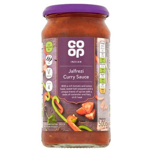Co Op Jalfrezi Cooking Sauce 500g