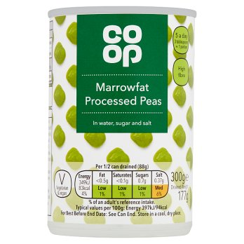 Co Op Marrowfat Peas 300g