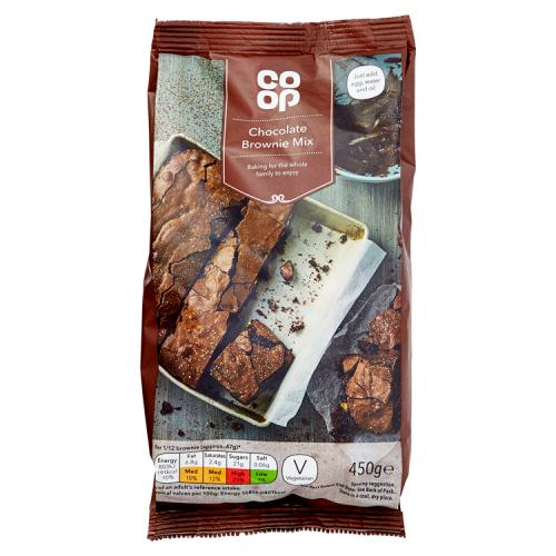 Co Op Chocolate Brownie Mix