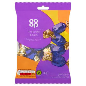 Co Op Milk Chocolate Eclairs 175g