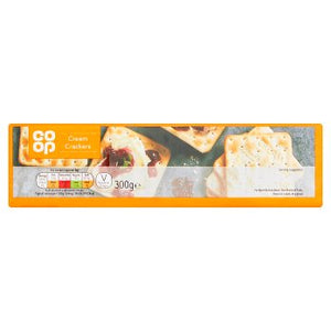 Co Op Cream Crackers 300g