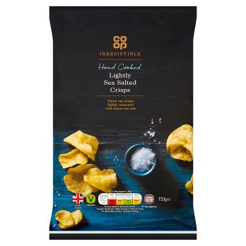 Co Op Irresistible Lightly Salted Crisps