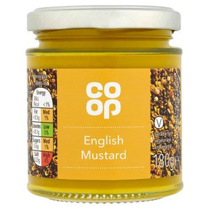 Co Op English Mustard 180g