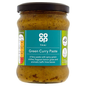 Co-op Thai Green Curry Paste 220g