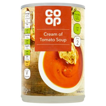 Co Op Cream of Tomato Soup