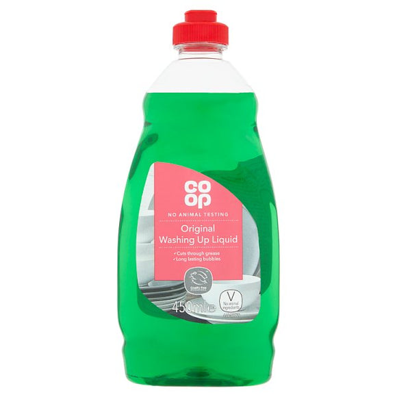 Co-op Original Washing Up Liquid 450ml