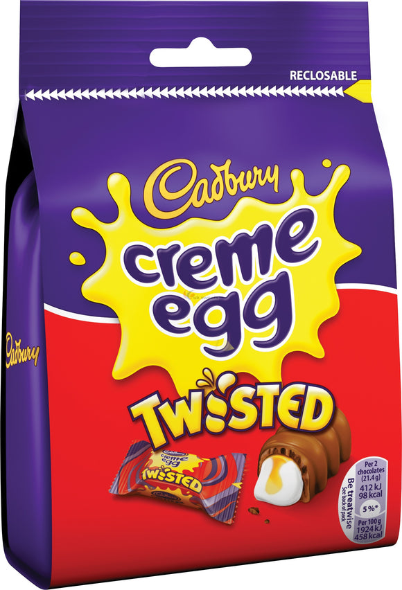 Cadbury Creme Egg Twisted Pouch