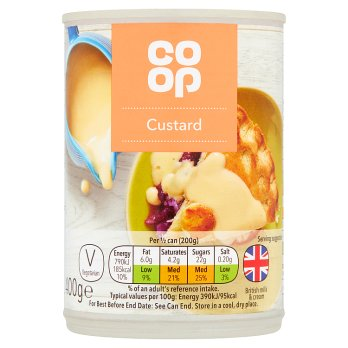 Co-op Ready to Serve Custard 400g