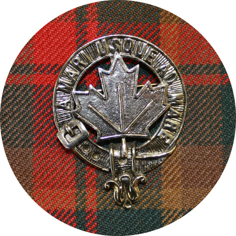 Maple Leaf Cap Badge