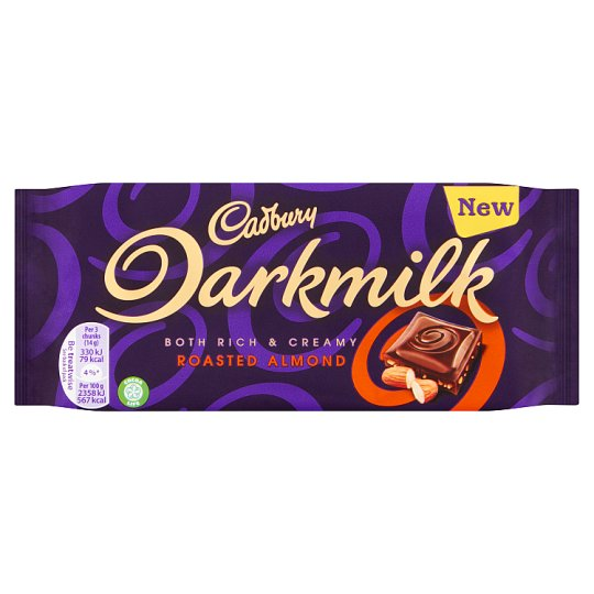 Cadbury Dark Milk Roasted Almonds